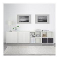 eket combinaison rangement murale blanc blanc d co pinterest rangement mural blanc blanc. Black Bedroom Furniture Sets. Home Design Ideas