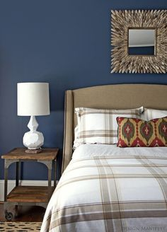 ten colorful paint colors that act like neutral paint colors - Blue Wall Paint Bedroom