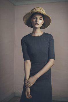 Fringe Hat and Liebe Dress | Samuji Pre-Fall 2015 Collection - http://www.samuji.com/products