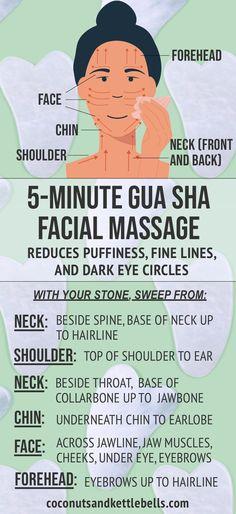 Massage Tips, Massage Benefits, Face Massage, Massage Therapy, Facial Benefits, Beauty Care, Beauty Skin, Skin Care Routine For Teens, Gua Sha Massage