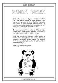 Encyklopédia zvierat - 22 zvierat - Aktivity pre deti, pracovné listy, online testy a iné Panda, Zoo, Education, Fictional Characters, Drink, Beverage, Onderwijs, Fantasy Characters, Learning