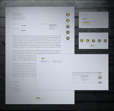 BGS work safe products Letterhead Design