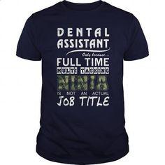 Dental Assistant - #free t shirt #hooded sweatshirt. PURCHASE NOW => https://www.sunfrog.com/Jobs/Dental-Assistant-90861317-Navy-Blue-Guys.html?id=60505