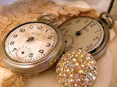 Old Pocketwatches (via Painted White by Alice W.)