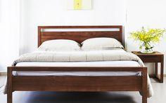 Contemporary Teak Bed