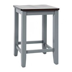The indented seat allows for optimal comfort while the backless element extends a casual style trend. This counter stool makes a great addition to a kitchen bar or a pre-existing brown dining set, but for a complete look, consider the Asbury Grey Storage Counter Table with drop leaves. Browse Online or in-store at Great American Home Store in Memphis, TN, and Southaven, MS. #stool #diningroom #bar #furniture #homedecor #interiordesign #family