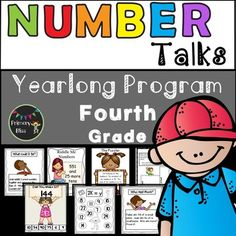 Do you want to engage your fourth graders in daily number talks but feel overwhelmed in regards to planning for a number talk each day.  If so, this product is for you!  This is a year-long (180 lessons), common core aligned Number Talks Program that is being specifically designed for fourth grade.