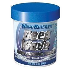 Product Description Wave Forming Pomade Protein & Amino Acid Fortified For Serious Wave Training Power Best wave forming pomade Builds, Creates, Hold and Defines The more you train the more waves you get !  Price:$4.99 Brand:WaveBuilder