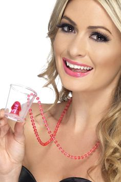 Spice up your hen party with this- a novelty willy shot glass. They will help everyone feel merry on your special night! Hen Party Accessories, Fancy Dress Accessories, Stag And Hen, Bachelorette Decorations, Party Shots, Hens Night, Shot Glasses, Party Packs, Glass Necklace