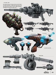 The Art of Fallout 4 - Weapons