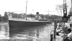 Weymouth, The St Helier Leaving Harbour c.1955, from Francis Frith
