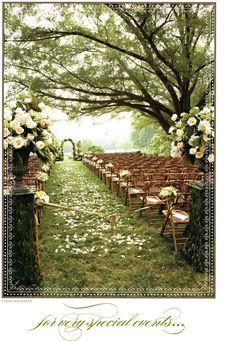 Dream wedding setting!!!!