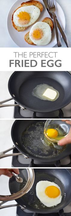How to fry an egg to perfection