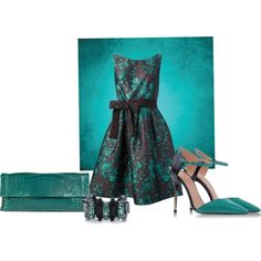 Green&black for a dating