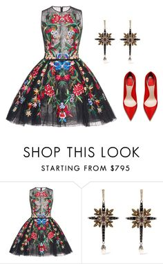 """In japan (ms)"" by ale-pink5 ❤ liked on Polyvore featuring Zuhair Murad and Alexander McQueen"