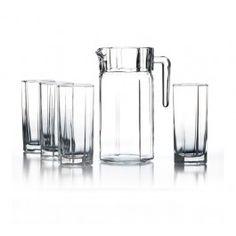 Style Setter Octavia 5 Piece Beverage Set #JayCompanies #Drinkware #Barware #Accessories #HomeDecor