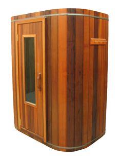 Sauna Rooms - Are you installing sauna rooms in your home? Northern Lights Cedar Saunas installs sauna rooms at very reasonable price. They also offer steam saunas, round saunas, home saunas, indoor outdoor saunas, sauna heaters wood fired sauna heaters. Diy Sauna, Basement Sauna, Sauna Room, Saunas, Homemade Sauna, Indoor Sauna, Indoor Outdoor, Sauna Lights, Building A Sauna