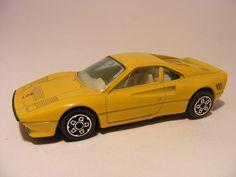 Ferrari 288 GTO Bburago 1:43 Yellow - Speelgoedenverzamelshop.nl