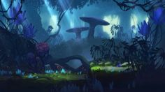 Jungle - Avatar the Game #AvatarTheGame gaming games images pictures screenshots GameScapes VistaLore daily pics beauty imagination Fantasy concept digital art sci-fi science fiction