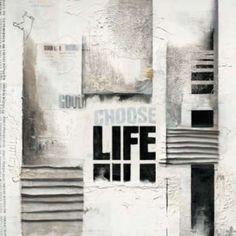 Choose life Canvas Art - Marie-Louise Oudkerk (24 x 24)