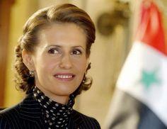Asma-Al Assad : the First Lady of Syria and wife of President Bashar Al - Assad.