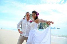 Railay Beach Wedding Beach Wedding Packages, Railay Beach, Thailand Wedding, Destination Wedding, Wedding Dresses, Fashion, Bride Dresses, Moda, Bridal Gowns