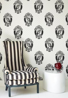 Marie Antoinette Wallpaper by Barbara Hulanicki - Designer Wall Coverings by Graham  Brown