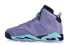 online store cb7d0 7fde0 Women Air Jordan 6 Retro Cool Grey Turbo Green-Black For Sale 2015 Nike