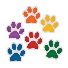 Dog Paw Clip Art Black Paw Print Silhouette Dog Art