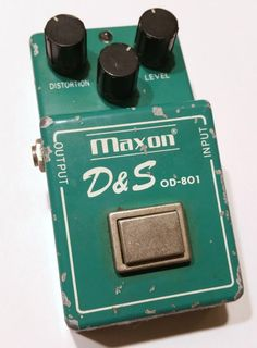 Maxon D&S OD-801 Distortion & Sustainer vintage pedal - MIJ