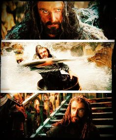 Thorin in the new Desolation of Smaug trailer <3