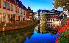 Panorámica de Estrasburgo, Francia. - Strasbourg, France.