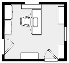 Super Space Planning for a Two Person Home Office Space  Home