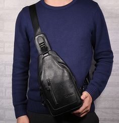 a4270fa63ea6 |Высокое качество модные для мужчин пояса из натуральной кожи теплые слинг  груди пакет путешествие для подъемов сумка через плечо купить на AliExpress