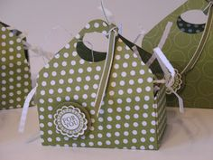 Candy Container   Denise Foor Studio PA  Stampin' Up!