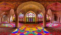 Mohammad Domiri, a talented architectural photographer from northern Iran, takes stunning photos of grandiose mosque architecture throughout the Middle East. Middle Eastern architecture is often recognized by its elegantly curved arches and spiraling columns, which feature heavily throughout Domiri's photos. Listed by @organicelephant58.