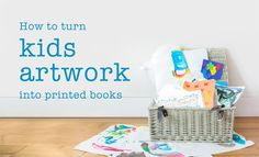 2 Littlefaces: How to turn kids artwork into printed books