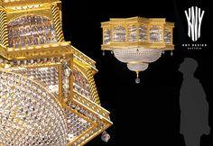Crystal Ceiling Light, Ceiling Light Fixtures, Decorative Ceiling Lights, Led, Austria, Swarovski Crystals, Chandelier, Lighting, Design