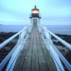 🇺🇸 Marshall Point Lighthouse | Port Clyde, Maine, United States