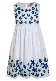 Vêtements Friboo Robe d'été - bright white blanc: 29,95 € chez Zalando (au 23/02/18). Livraison et retours gratuits et service client gratuit au 0800 915 207.