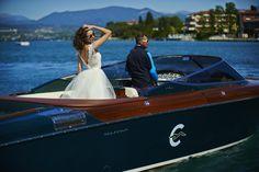 Vania Dress at Sirmione Lake Garda in Aquariva boat. 2