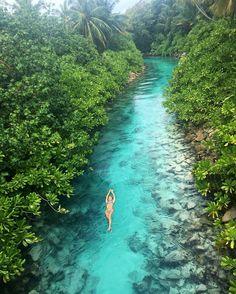 More Than 44 A Hidden Stream Of Water In The Maldives una corriente de agua oculta en las maldivas ein versteckter strom des wassers in den malediven un flusso nascosto di acqua alle maldive Vacation Places, Dream Vacations, Vacation Spots, Vacation Humor, Romantic Vacations, Vacation Travel, Italy Vacation, Visit Maldives, Maldives Travel