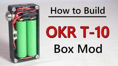 How to Build OKR Box Mod Tutorial Step by Step. Very informational.