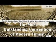 1958 Jehovah's Witnesses New York Yankee Stadium Convention - YouTube