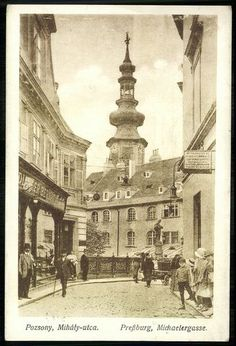 Bratislava, Old City, Vintage Photography, Hungary, Budapest, Austria, Taj Mahal, The Past, History