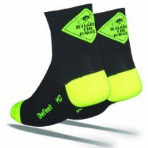 DeFeet Aireator Share the Road Socks // Description The Wooleator is a lightweight wool sock for insulation and warmth in cooler temperatures.It is made with the finest Merino wool in a mesh consturction for breathability. // Details Sales Rank: #30219 in Apparel & Accessories Color: Black Brand: Defeet Model: AIRSHR Features 63% Wool, 26% Nylon, 10% Cordura, 1% Lycra Soft, breathable// read more >>> http://Heller90.iigogogo.tk/detail3.php?a=B003YUBFL6