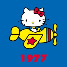 Hello kitty through the years 1977