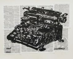 William Kentridge print archive