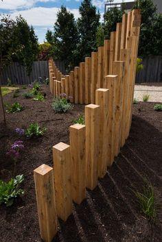 Backyard Fences, Garden Fencing, Backyard Landscaping, Garden Screening, Australian Garden, Garden Landscape Design, Fence Design, Garden Structures, Back Gardens