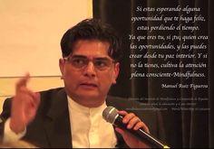 Manuel Ruiz Figueroa en Murcia, España. Training Mindfulnes